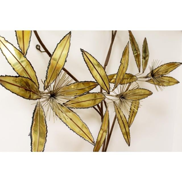 Superior Contemporary Modern Rare Curtis Jere Brass Wall Sculpture ...