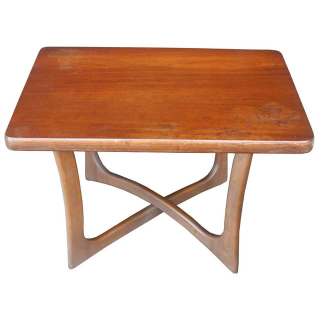 Mid-Century Modern 1950s Adrian Pearsall for Craft Associates End Table For Sale - Image 3 of 3