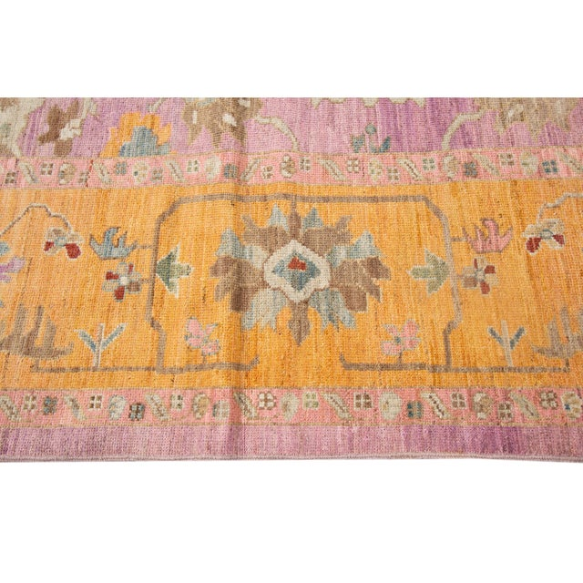 Islamic 21st Century Modern Rug 12 X 16 For Sale - Image 3 of 9