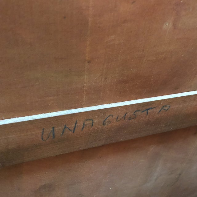 Vintage Mahogany Chest of Drawers For Sale - Image 10 of 11