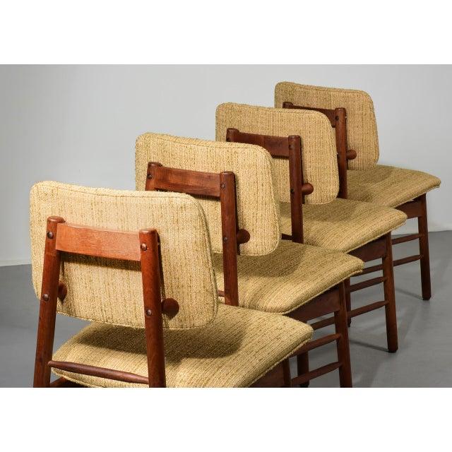 Glenn of California 1952 Vintage Greta Grossman Model 6260 Chairs - Set of 4 For Sale - Image 4 of 10