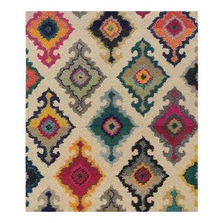 Mediterranean Style Multicolor Rug - 10' x 12'