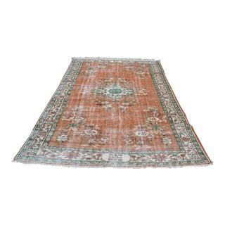 """Turkish Anatolian Wool Floor Rug - 7'1"""" x 9'"""