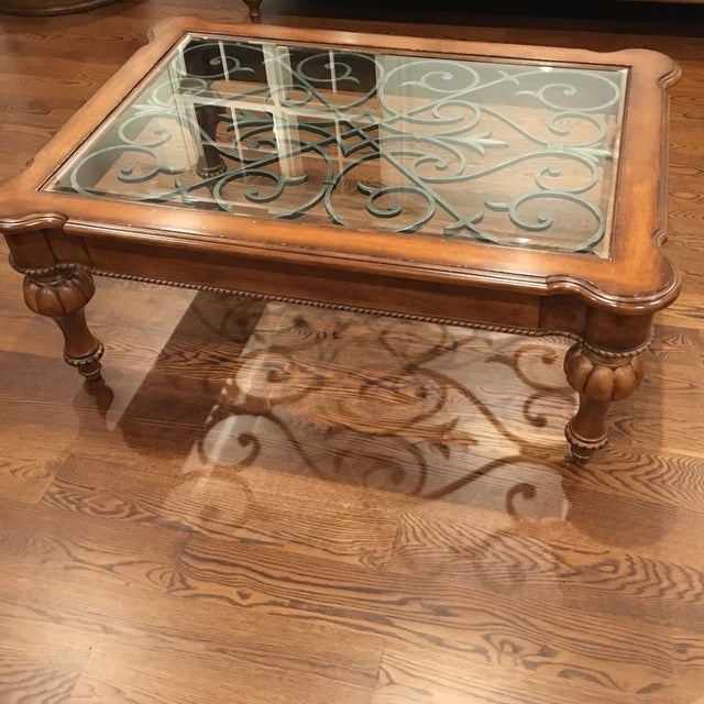Ethan Allen Tuscan Coffee Table