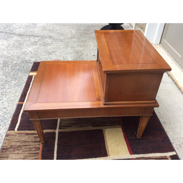 Chippendale Hekman Furniture Mid-Century Modern End / Side Table For Sale - Image 3 of 12