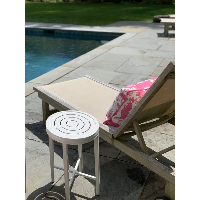 """Finally - the beloved Tini Table - now built and styled for the outdoors. The """"On the Rocks"""" tables are made from durable..."""