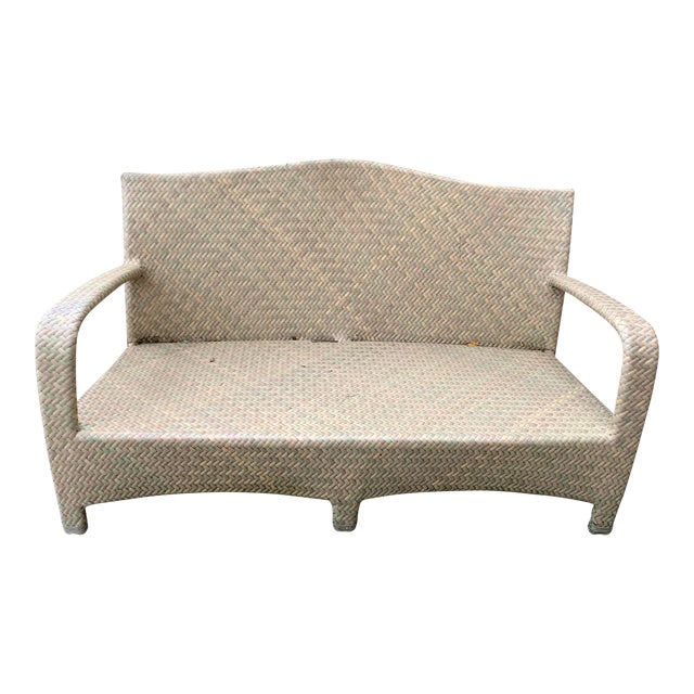 Brown Jordan Havana Seagrass Loveseat For Sale