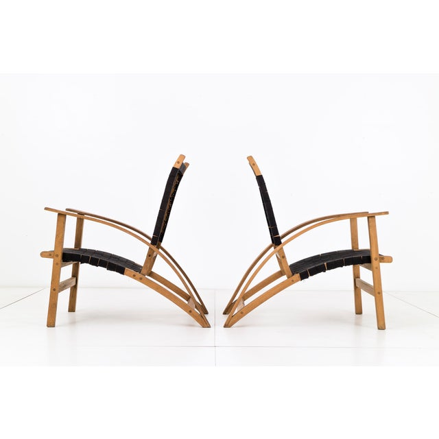 "Mid-Century Modern Pair of Carl Koch ""Sno-Shu"" Lounge Chairs For Sale - Image 3 of 9"