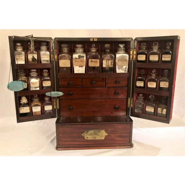 Antique English Apothecary Chest, Circa 1880. For Sale - Image 9 of 9