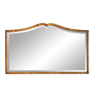 Early 20th Century American Mustache Mirror For Sale