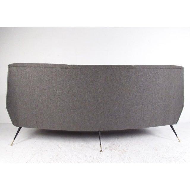 Gigi Radice Sculptural Modern Sofa by Gigi Radice For Sale - Image 4 of 11
