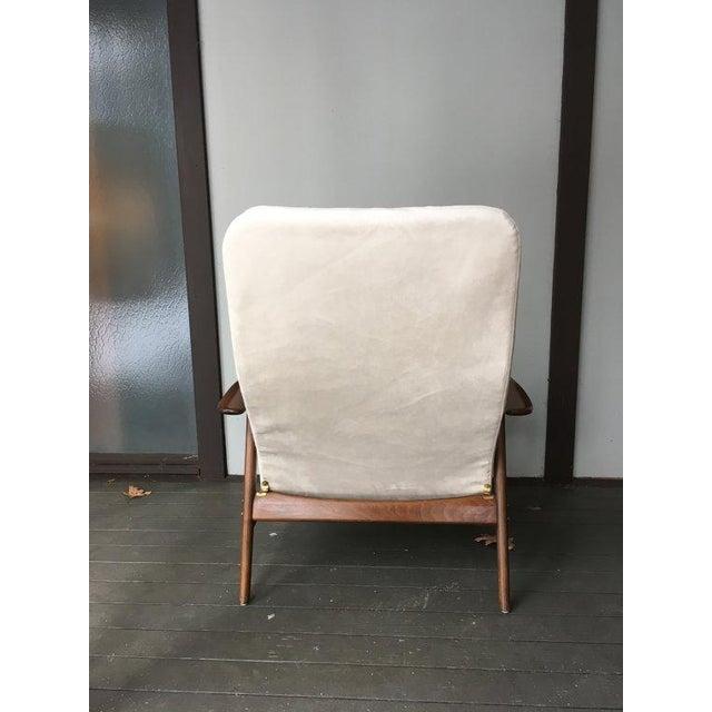 Alf Svensson Danish Reclining Lounge Chair & Ottoman - Image 5 of 7