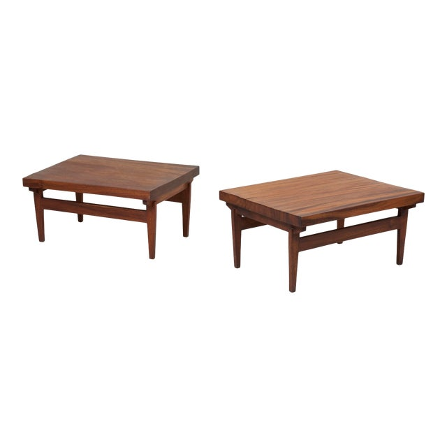 Pair of Signed Studio Craft End Tables, Guatemala, 1960s For Sale
