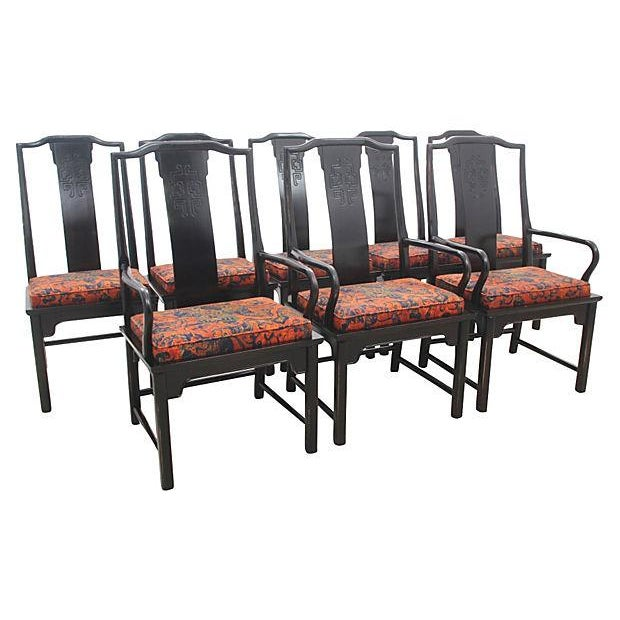 Century Chin Hua Collection Chairs - Set of 8 - Image 2 of 7
