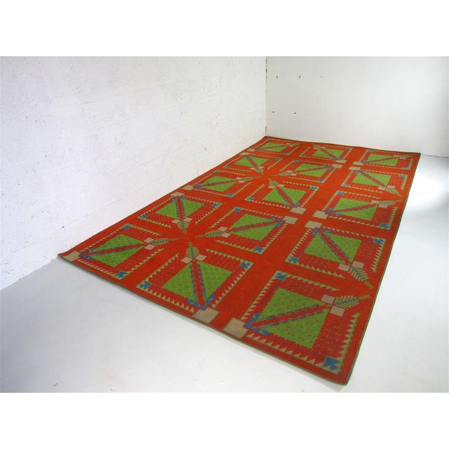 Frank Lloyd Wright Designed Rug for Az Biltmore by Albert Chase McArthur For Sale In Phoenix - Image 6 of 8