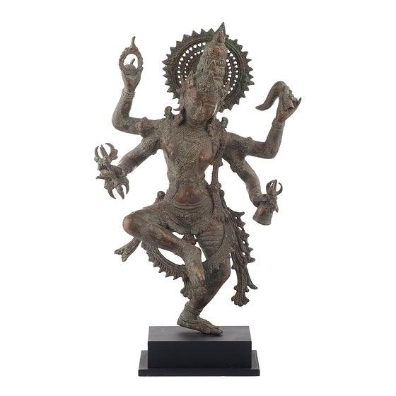 Shiva Bronze Statue - Image 1 of 4