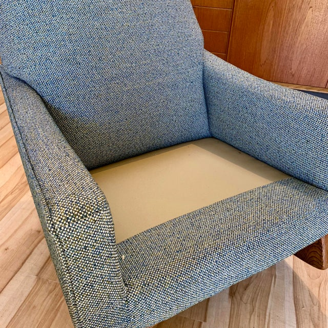 Vintage Mid-Century Adrian Pearsall for Craft Associates Rocking Chair For Sale - Image 10 of 11