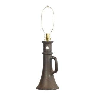 Unique Antique Metal House Leveling Jack Lamp For Sale