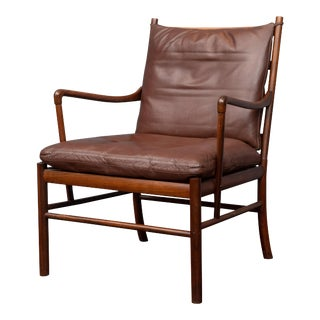 Ole Wanscher Colonial Chair in Rosewood For Sale