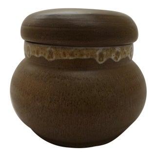 Mid-Century Lidded Studio Pottery Jar