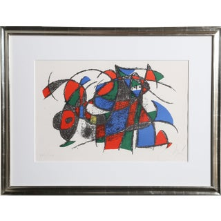 Joan Miró, Lithographs Vi, Modern Lithograph For Sale