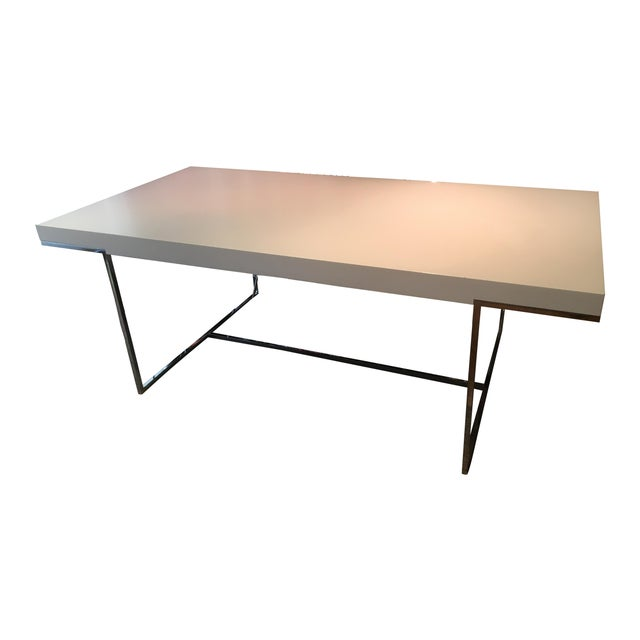 B b italia athos table chairish - B b italia athos dining table ...
