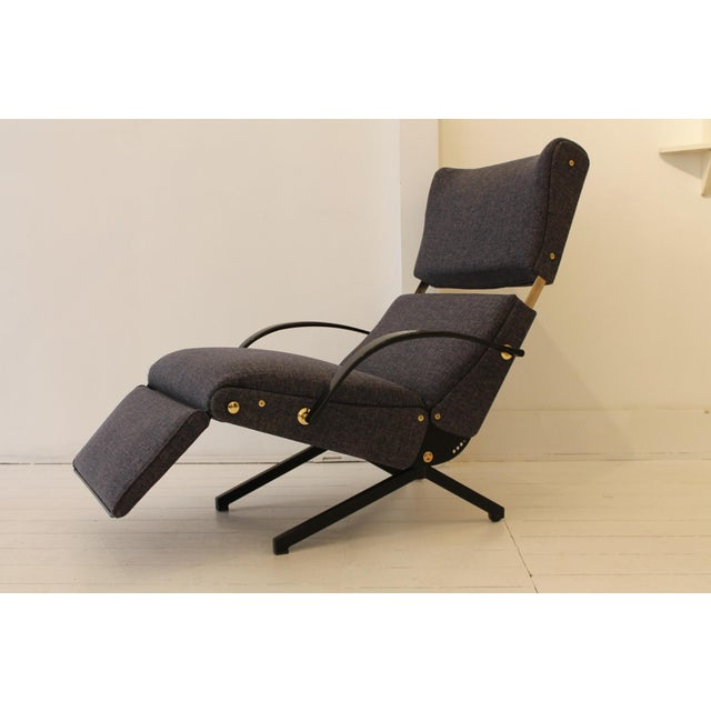 Mid-Century Modern Lounge Chair P40 by Osvaldo Borsani for Tecno For Sale - Image 3 of 7