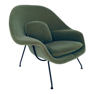 Eero Saarinen for Knoll Mid Century Organic Modern Womb Chair For Sale