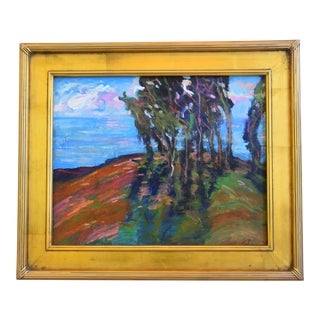 Juan Pepe Guzman, California Seascape Landscape Oil Painting For Sale