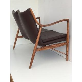 Finn Juhl Nv45 Style Settee in Zebrawood Preview