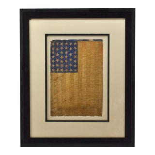 Antique 40 Star American Flag Circa 1889 For Sale