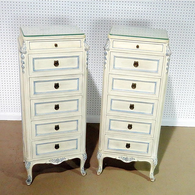Pair of Swedish Louis XVI Style Lingerie Chests For Sale - Image 9 of 9