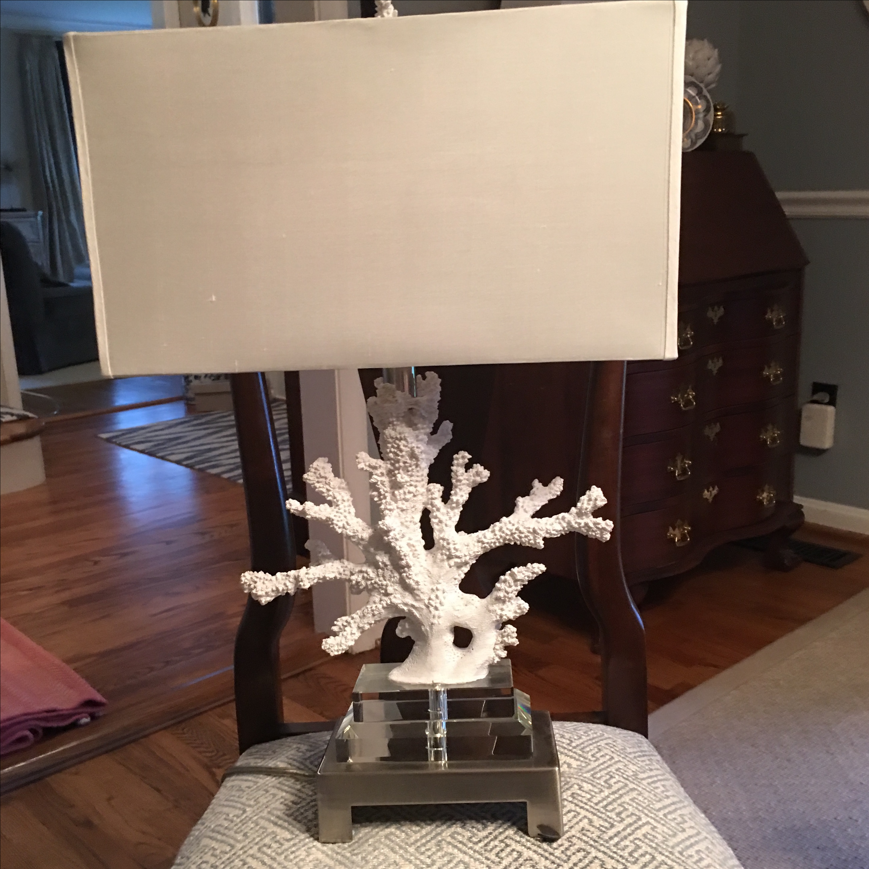 Good Bring That Coastal Vibe Into Your Home Decor Scheme With The Naia Faux Coral  Table Lamp