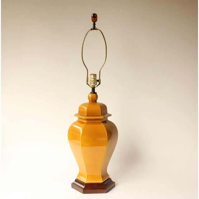 Contemporary Royal Haeger Ginger Jar Table Lamp For Sale - Image 3 of 7