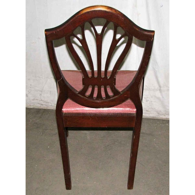 Classic Mahogany Dining Chairs - Set of 6 For Sale - Image 10 of 12