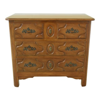 Bodart 2 Over 2 Drawer Cherry French Style Chest For Sale