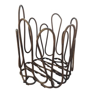 Martha Sturdy Wire Basket For Sale