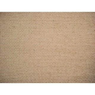 Brunschwig Et Fils Wicker Texture Birch Tweed Upholstery Fabric - 7 7/8 Yards For Sale