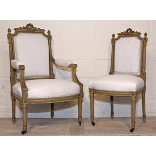 19th Century Antique French Dining Chairs - Set of 6 Preview
