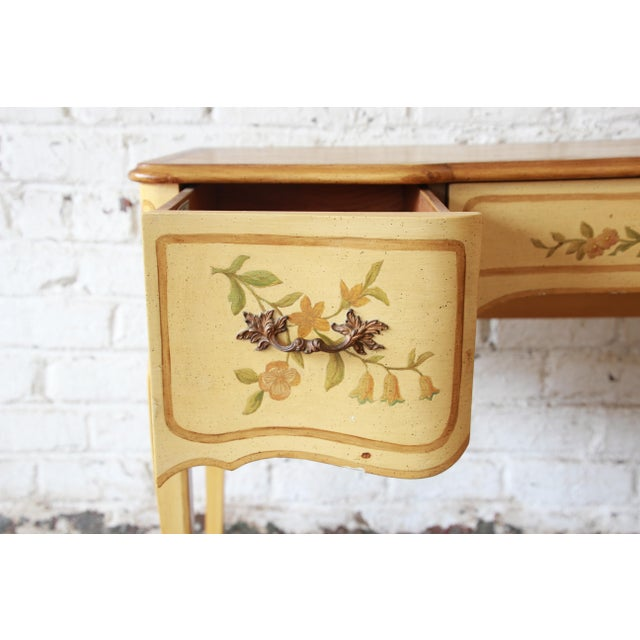 1960s John Widdicomb Vintage French Writing Desk For Sale - Image 5 of 12