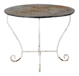 Image of Dark Gray Outdoor Accent Tables