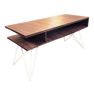 Custom Bamboo Plywood Coffee Table