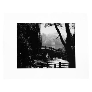 """Garden of Peace"" Black & White Photograph For Sale"