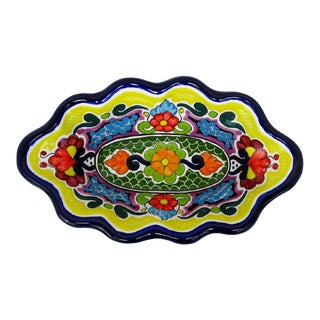 Mexican Ceramic Hanging Bowl For Sale