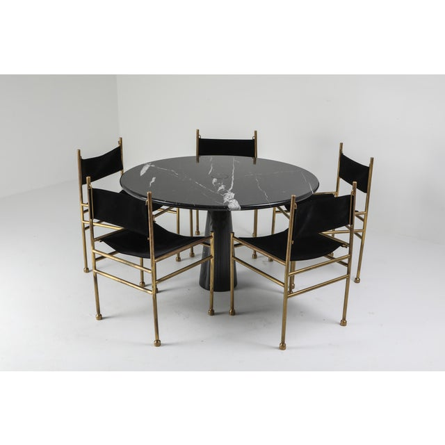 Mangiarotti Eros Marble Dining Table For Sale - Image 6 of 10