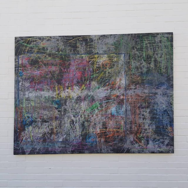 Contemporary Abstract Painting by Kelly Caldwell For Sale - Image 4 of 4