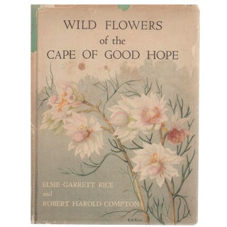 """""""Wild Flowers of the Cape of Good Hope"""" Coffee Table Book For Sale"""