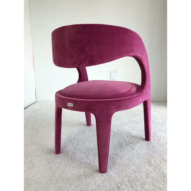 2010s Avant-Garde Berenice Fendi Chairs - a Pair For Sale - Image 5 of 9