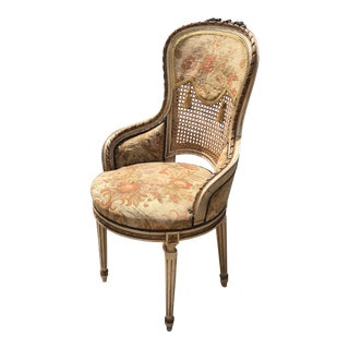 Early 19th Century Vintage Hand Painted French Chair For Sale