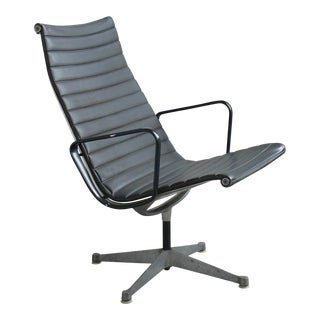 1970s Mid-Century Modern Eames for Herman Miller Aluminum Group Lounge Chair For Sale